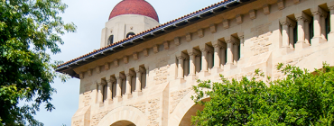 Photo of the Stanford campus