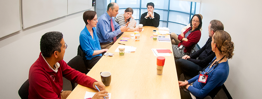 Postdoctoral scholars, faculty and staff meeting